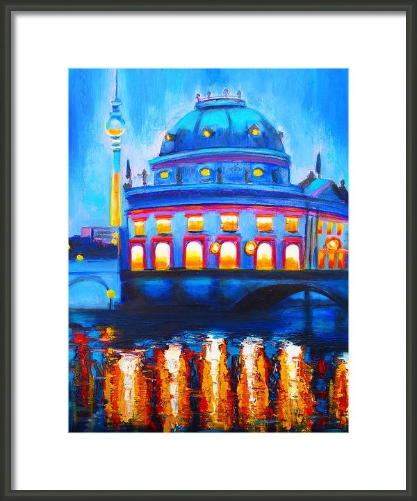 Susi Franco - The Berlin Musuem Print