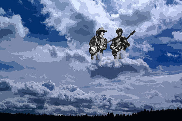 Ben Upham - Tucker Boys In The Clouds... Print
