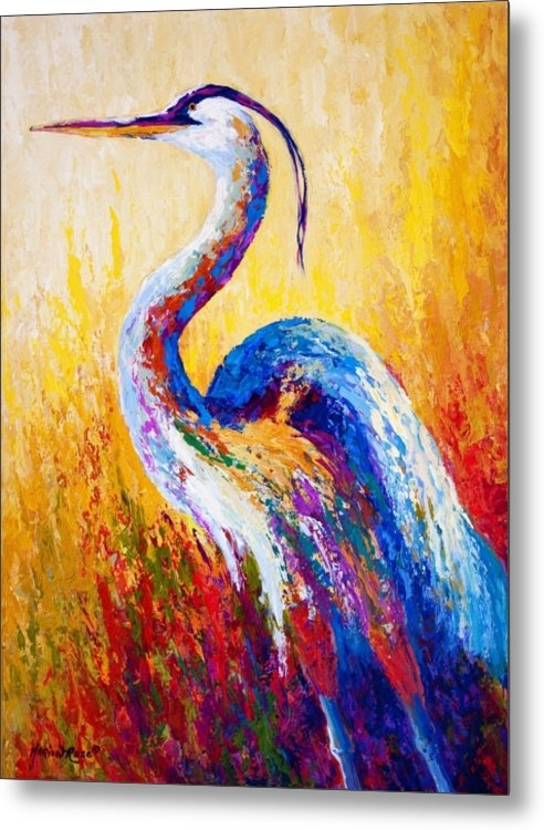 Marion Rose - Steady Gaze - Great Blue ... Print
