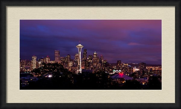 Chad Dutson - Seattle Night Print