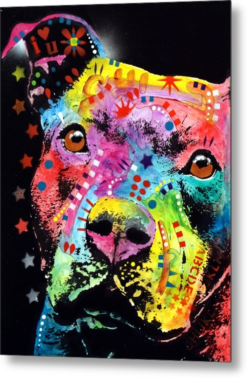 Dean Russo - Thoughtful Pitbull i hear... Print