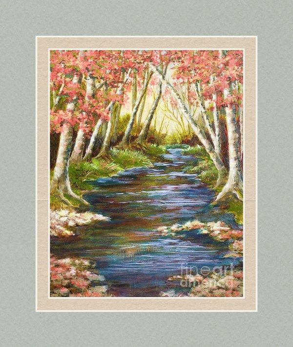 Vic  Mastis - Up a Creek Print