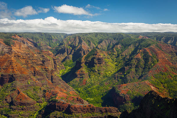 Chris Beasley Photography - Waimea Canyon Print