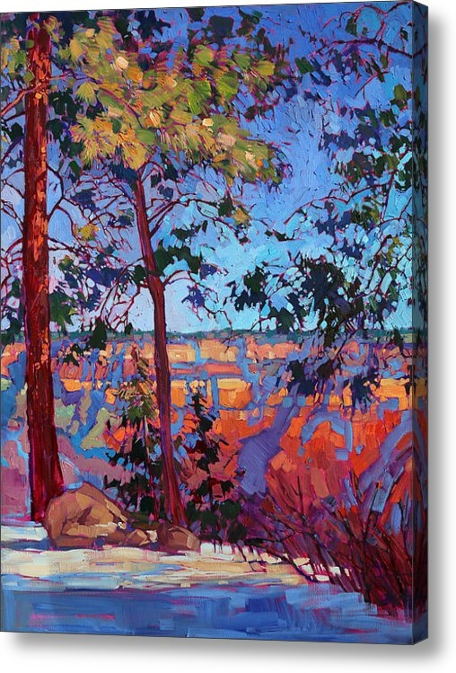 Erin Hanson - The North Rim Hexaptych -... Print