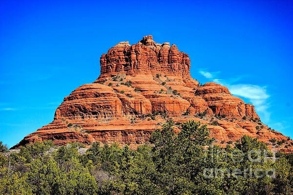 Jon Burch Photography - Bell Rock Tower Print