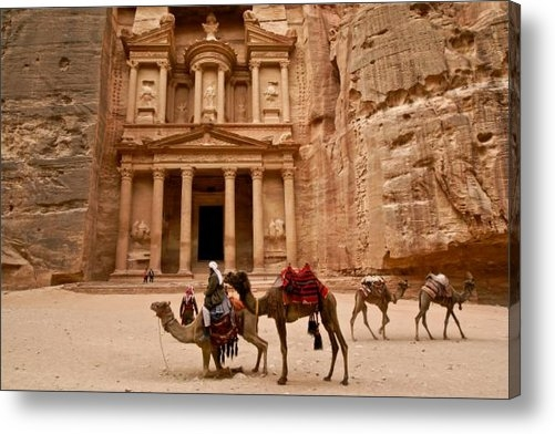 Michele Burgess - The Treasury of Petra Print
