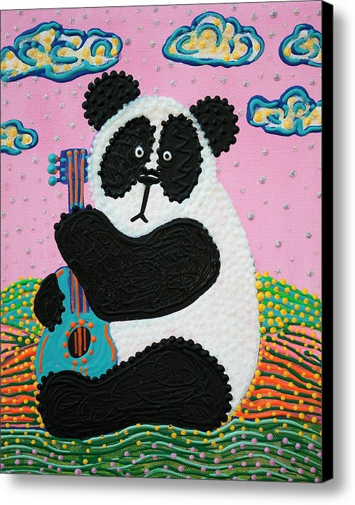 Laura Barbosa - Panda Song Print