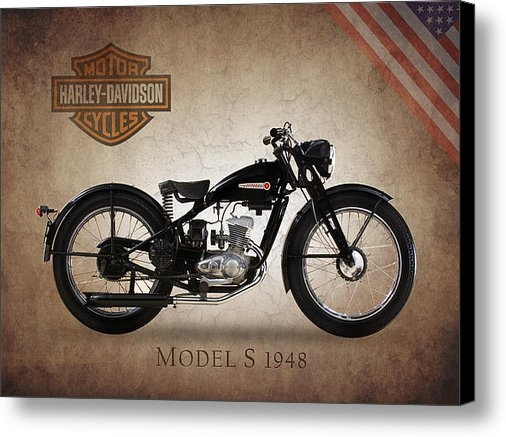 Mark Rogan - Harley-Davidson Model S 1... Print