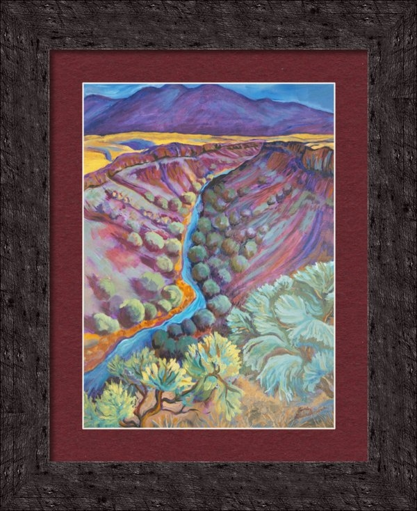 Gina Grundemann - Rio Grande in September Print