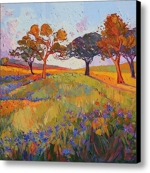 Erin Hanson - Colors of Brenham Triptyc... Print