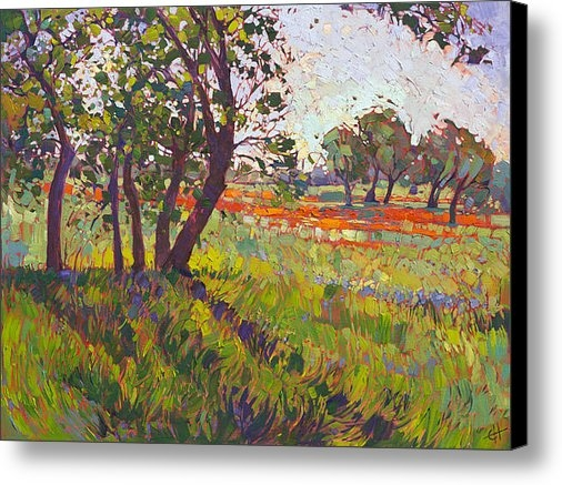 Erin Hanson - Hill Country Color Print