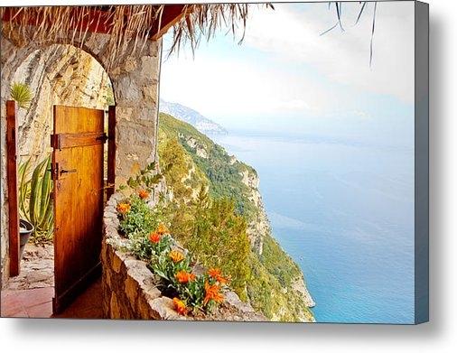 Susan  Schmitz - Door to Paradise Print