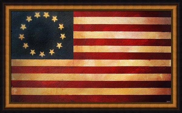 Adam Varga - Betsy Ross Flag Print