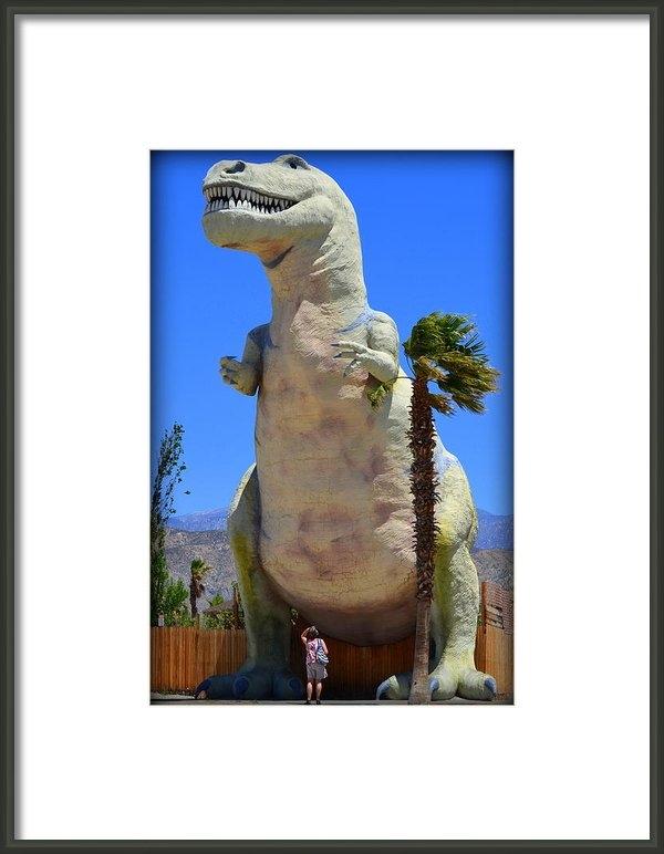 Stan Askew - Cheryl And The T-rex Print