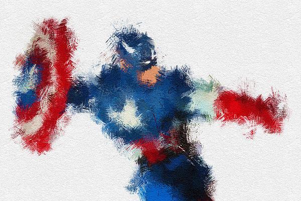 Miranda Sether - American Hero 2 Print