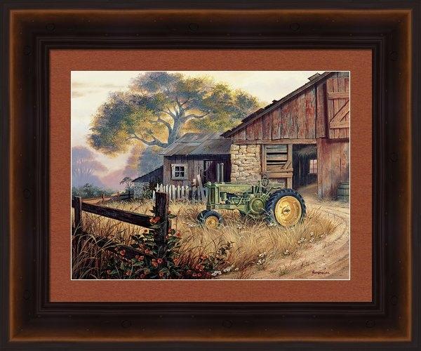 Michael Humphries - Deere Country Print