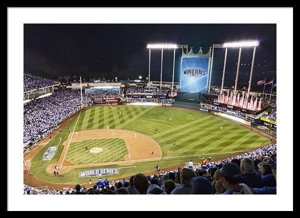 Corey Cassaw - World Series Game 2 Print