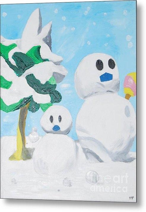 Yueping Song - Snow Print
