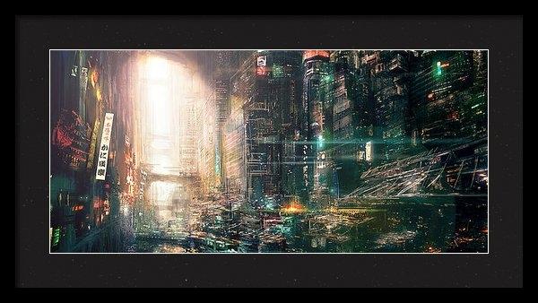 David Cheung - China town Print