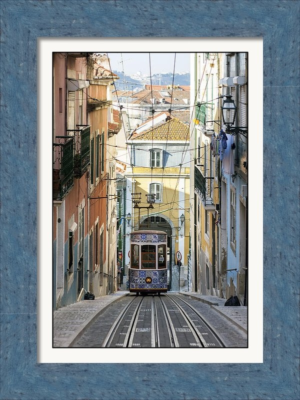 Andre Goncalves - The Bica Funicular Print