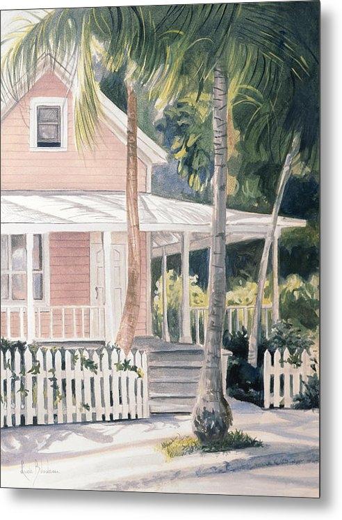 Lucie Bilodeau - Pink House Print