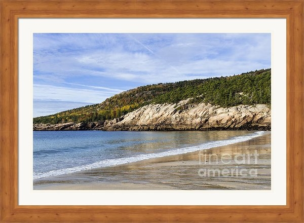 John Greim - Sand Beach Acadia Print