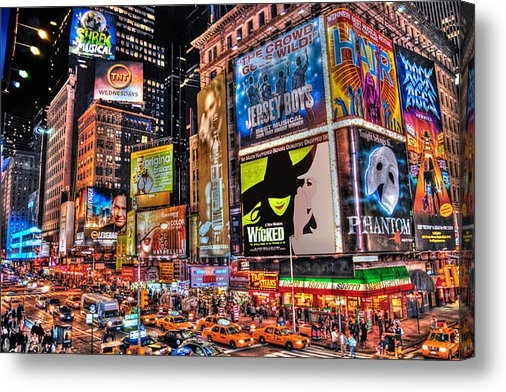 Randy Aveille - Times Square Print