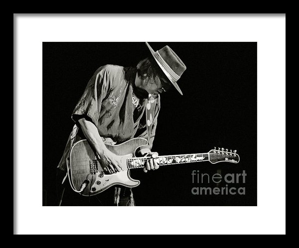 Chuck Spang - Stevie Ray Vaughan 1984 Print