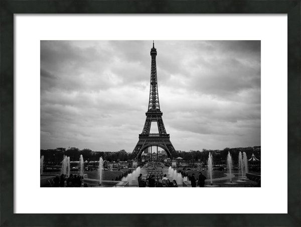 Mountain Dreams - Clouds over Paris Print