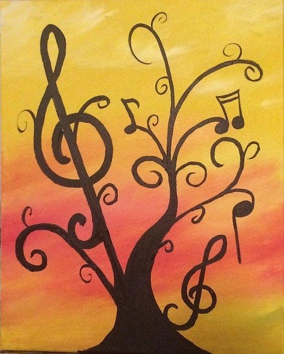 Amy Fecteau - Music Tree Print