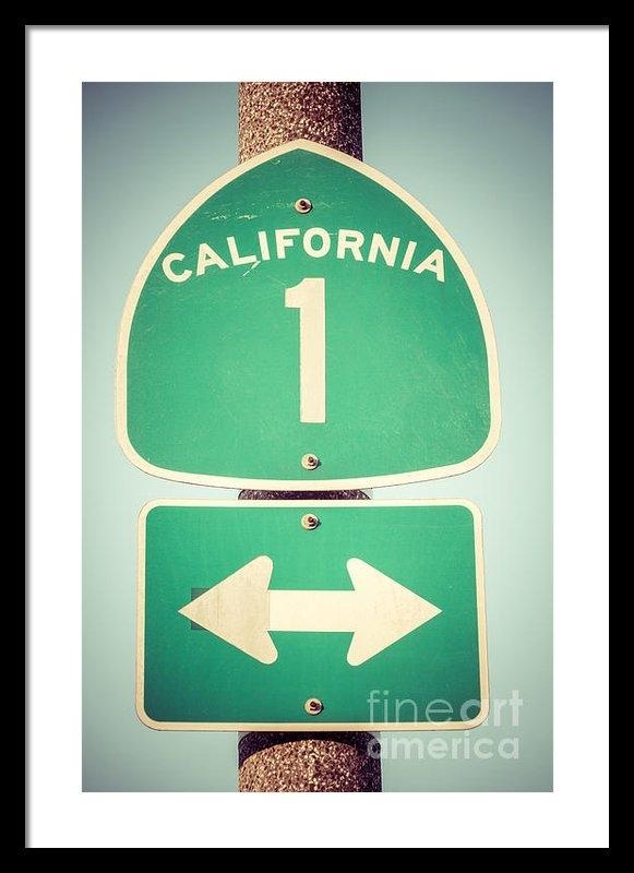 Paul Velgos - Pacific Coast Highway Sig... Print