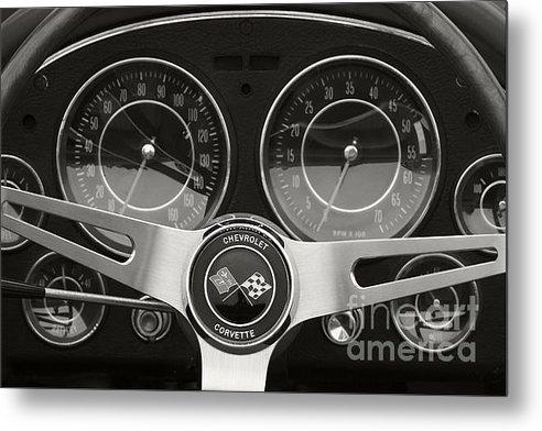 Dennis Hedberg - Mid Year Corvette Dash Print