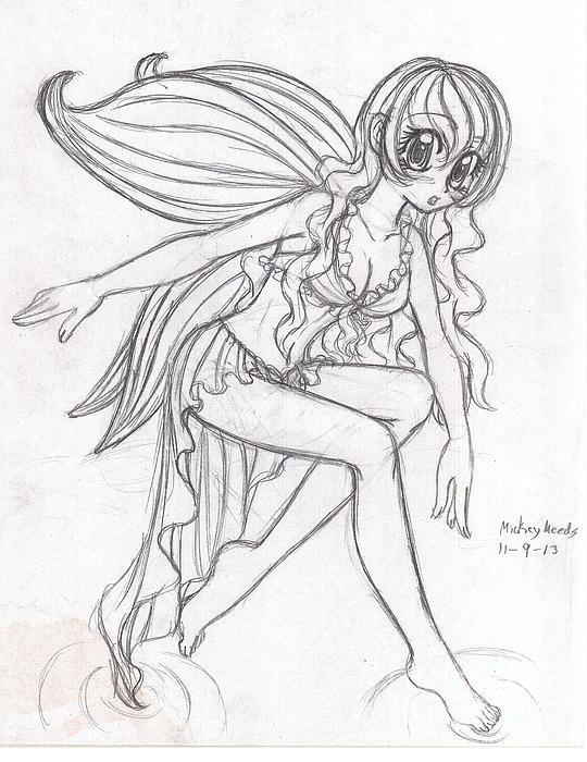 Mickayla Meeds - Fairy Print