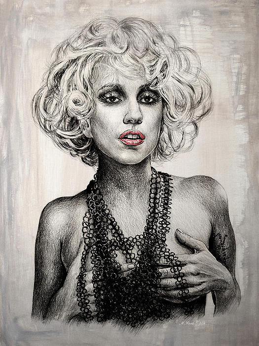 Andrew Read - Lady GaGa Print