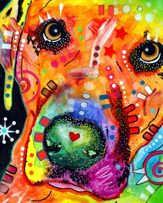 Dean Russo - Close Up Lab warpaint Print