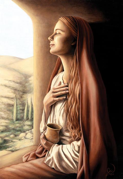 Jonathan Weber - Mary Magdalene Print