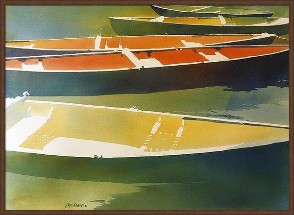 Kris Parins - Floaters Print