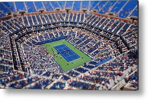 Mason Resnick - Arthur Ashe Stadium from ... Print