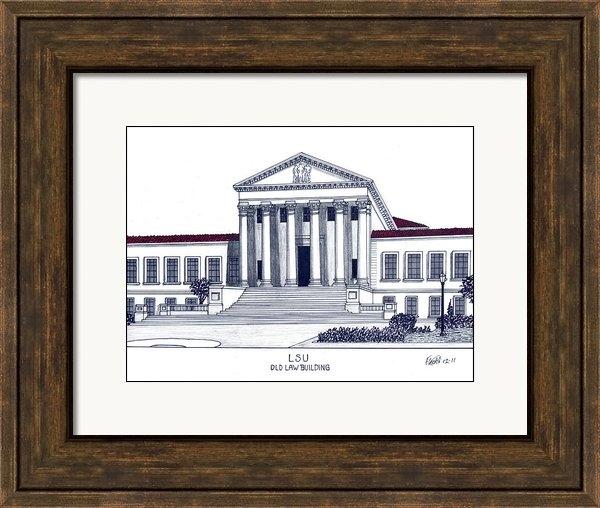 Frederic Kohli - LSU Old Law Building Print