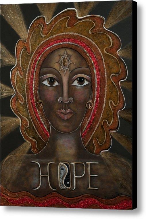 Deborha Kerr - Black Madonna - Hope Print