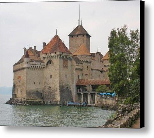 Marilyn Dunlap - Chateau de Chillon Switze... Print