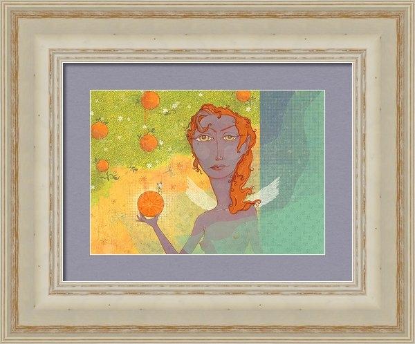 Dennis Wunsch - Orange Angel 1 Print