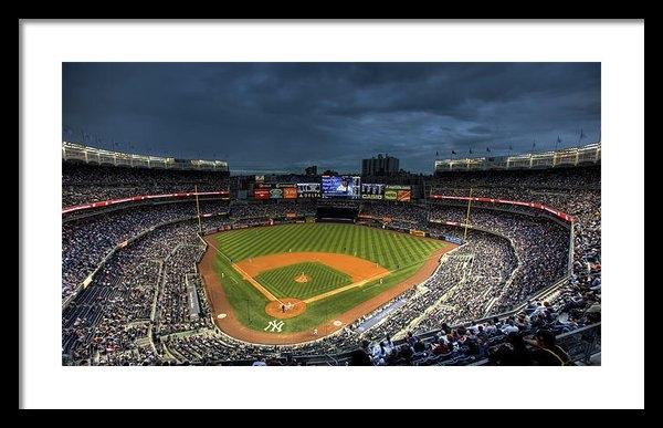 Shawn Everhart - Dark Clouds over Yankee S... Print