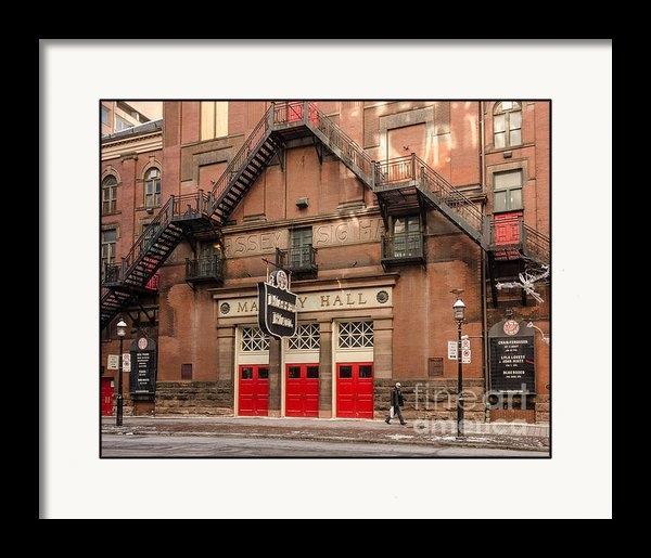 Dave Hood - Massey Hall in Toronto Print