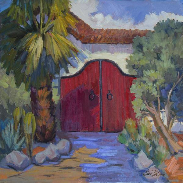 Diane McClary - Casa Tecate Gate 2 Print
