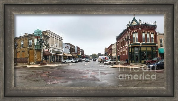 Gregory Dyer - Grinnell Iowa - Downtown ... Print