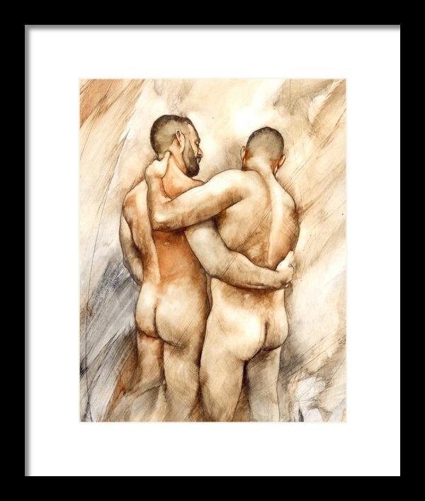 Chris  Lopez - Bill and Mark Print