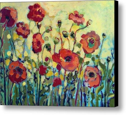 Jennifer Lommers - Anitas Poppies Print