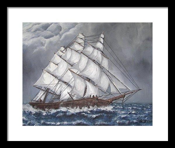 Deborah Strategier - Escaping the Storm Print