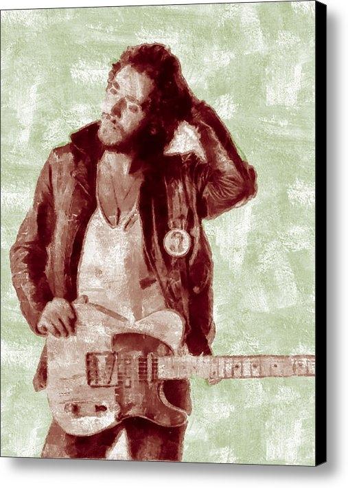 Riccardo Zullian - Bruce Springsteen Print